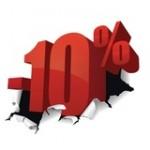 10% popusta na sve narudzbine primljene putem naseg sajta.
