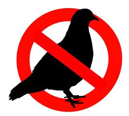 Odbijanje rasterivanje golubova.