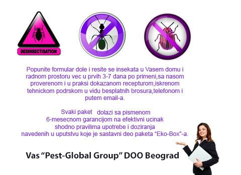 Suzbijanje svih vrsta bubarusa,bubasvaba,mrava,paukova i moljaca