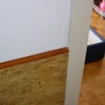 Lamperija u zidu odnosno drvene daske su permanentni problem opstanka stenica u objektu cak i kada se ceo objekat detaljno uradi.Izbacivanje namestaja u slucaju lamperija nista ne reseva problem jer nov unesen namestaj ce opet biti zahvacen stenicama iza lamperija.