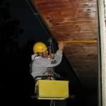 """Dezinsekcija-deratizacija i odbijanje golubova koji slecu na terasi-tavanu i krovu.Sajt""""Dezinsekcija.net""""2016"""