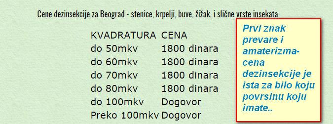 Dezinsekcija stenice Beograd prevare,Deratizacija stenice Beograd prevare,Dezinsekcija Beograd prevare,Deratizacije Beograd cene prevare.