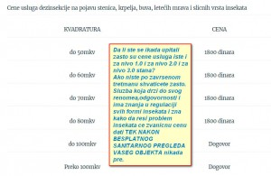 Dezinsekcija Beograd prevare,Ek-Group prevare,Ek-GRoup losa iskustva,Ek-Group negativna i losa iskustva u radu,