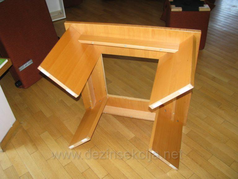 Prva i osnovna greska amaterskih sluzbi je u tome sto ne okrenu sav namestaj za 180 stepeni ukljucujuci i stocice i stolice.Jedino okretanjem stolova i stolica za 180 stepeni smo sigurni da hemija silom zemljine teze zavrsava posao 100% uginuca stenica u svim supljinama zivotnog i radnog inventara Klijenata.