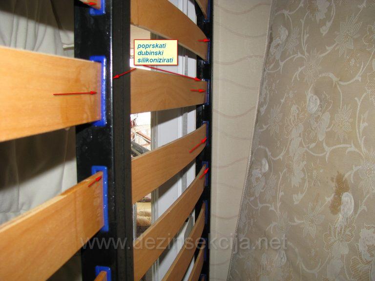Pravilno postavljen i pripremjen klik klak krevet pred DDD tretmanom.