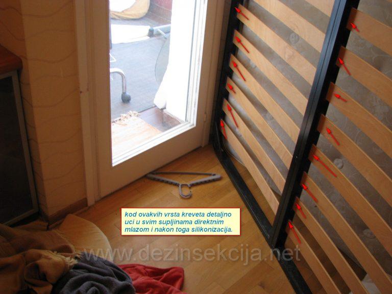 Prikaz i smernice u radu sa krevetima zahvecenim stenicama.