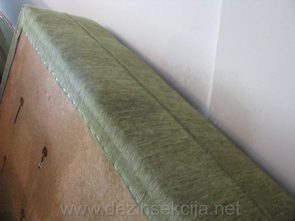 Krevet zahvacen buvama u Novom Sadu.Autenticne fotografije iz radne prakse.