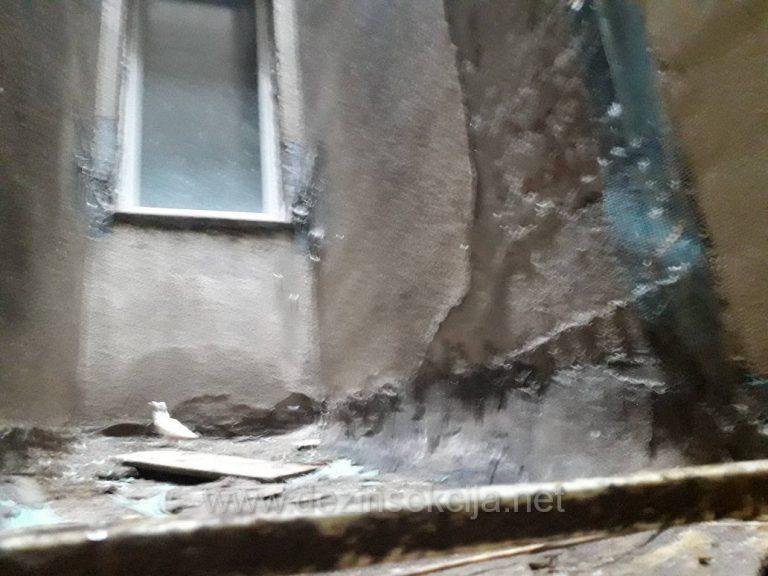 Ciscenje tavana i zgrada Beograd od golubova zateceno stanje maj 2019.