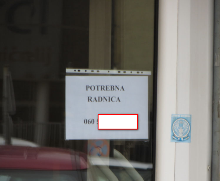 Potraznja za pekarima i prodavacicama Beogradska opstina Cukarica 22.septembar 2019.