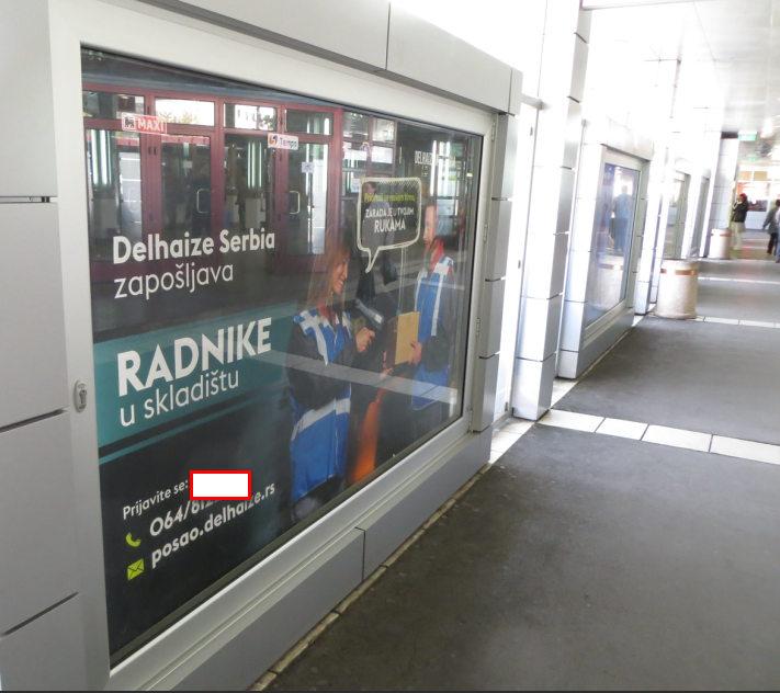 Hronicni nedostatak radne snage,BAS-ova stanica centar Beograda 22-09-2019.