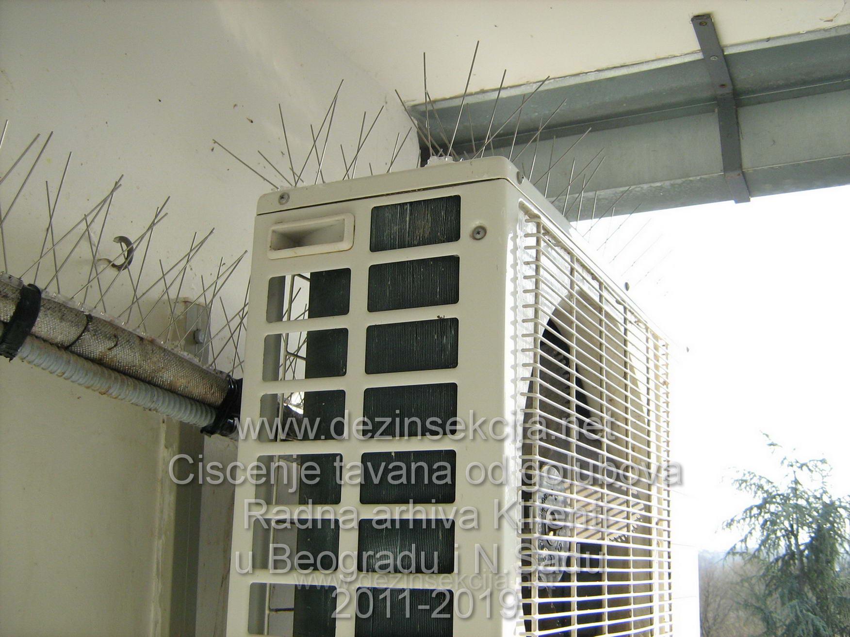 Kako odbiti i oterati golubove sa terasa-balkona-krovova-tavana kuca-zgrada i poslovnih objekata?