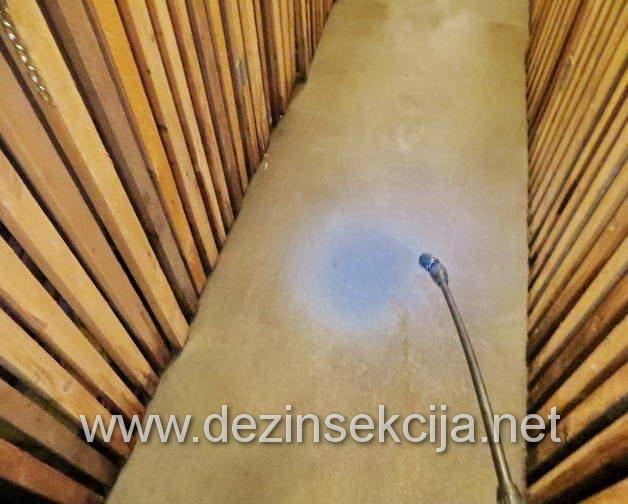 Kompletna regulacija crnih kanalizacionih bubašvaba,mrava,bubarusa,moljaca i glodara u podrumu zgrade nakon izlivanja kanalizacije.Uradjen je ujedno i kompletan anti septic program profilakse i regulacije svih vrsta kanalizacionih i podzemnih voda virusa i bakterija.Na preko 1000 kvadrata uradjena je detaljna dezinsefekcije,deratizacija i dezinsekcija podzemnih garaža ujedno.Zahvaljujemo presedniku kućnog saveta i profesionalnom upravniku stambene jedinice Radnička 9 u Zemunu,grad Beograd na ukazanom poverenju.Datum uspostavljanja poslovno tehničke saradnje maj 2019 e godine.