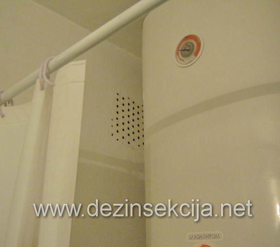 Ulaz bubašvaba ventilacioni otvori za odvod vazduha.