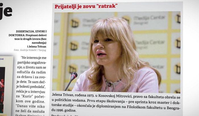 Plagiranje tekstova popriama epidemiološke razmere u Srbiji u edukativnom i intelektualnom smislu reči.Ne biraju se sredstva samo da se dodje do funkcija i poverenja naroda na ovim prostorima koji apsolutno svakome poklanja poverenje u onome što pročita na Internetu.