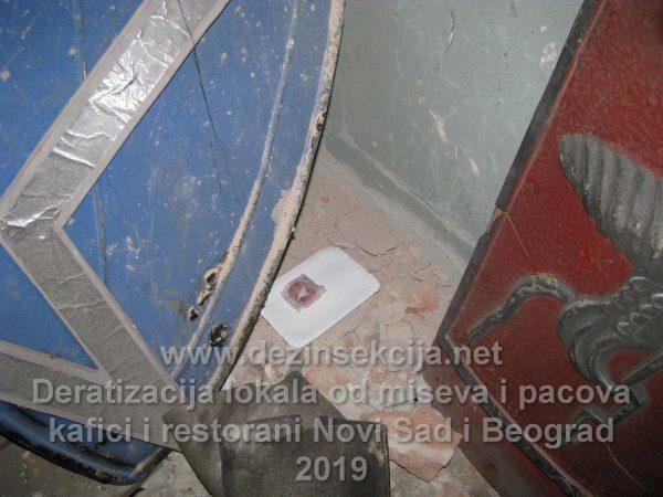 Regulacija miševa i pacova u podrumima ispod radnih lokala.