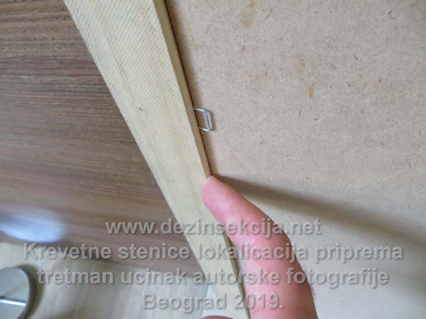 Obezbedjivanje da stenice ne mogu više ući kod hotelskog inventara i vidu transparentne silikonizacije nakon izvršene dezinsekcije.