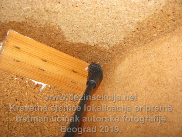 Preparat protiv stenica se mora u svim šupljinama ubrizgati.Da bi se stiglo do ovoga potrebni su sati pripreme i rada.