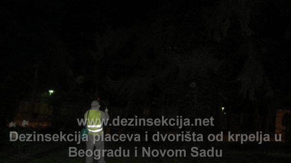 Prskanje na pojavu krpelja u Beogradu 2018.
