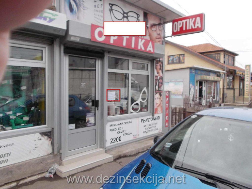 OGlasi za prodavce naočara i u optičarskim radnjama.Plata je neretko i 60 hiljada dinara.Zainteresovanih NEMA.